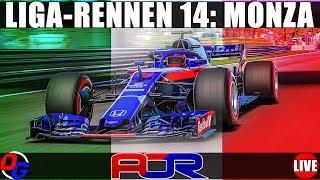 AOR Liga Rennen 14: Italien GP – F1 2018 Livestream Deutsch | Formel 1 Gameplay German