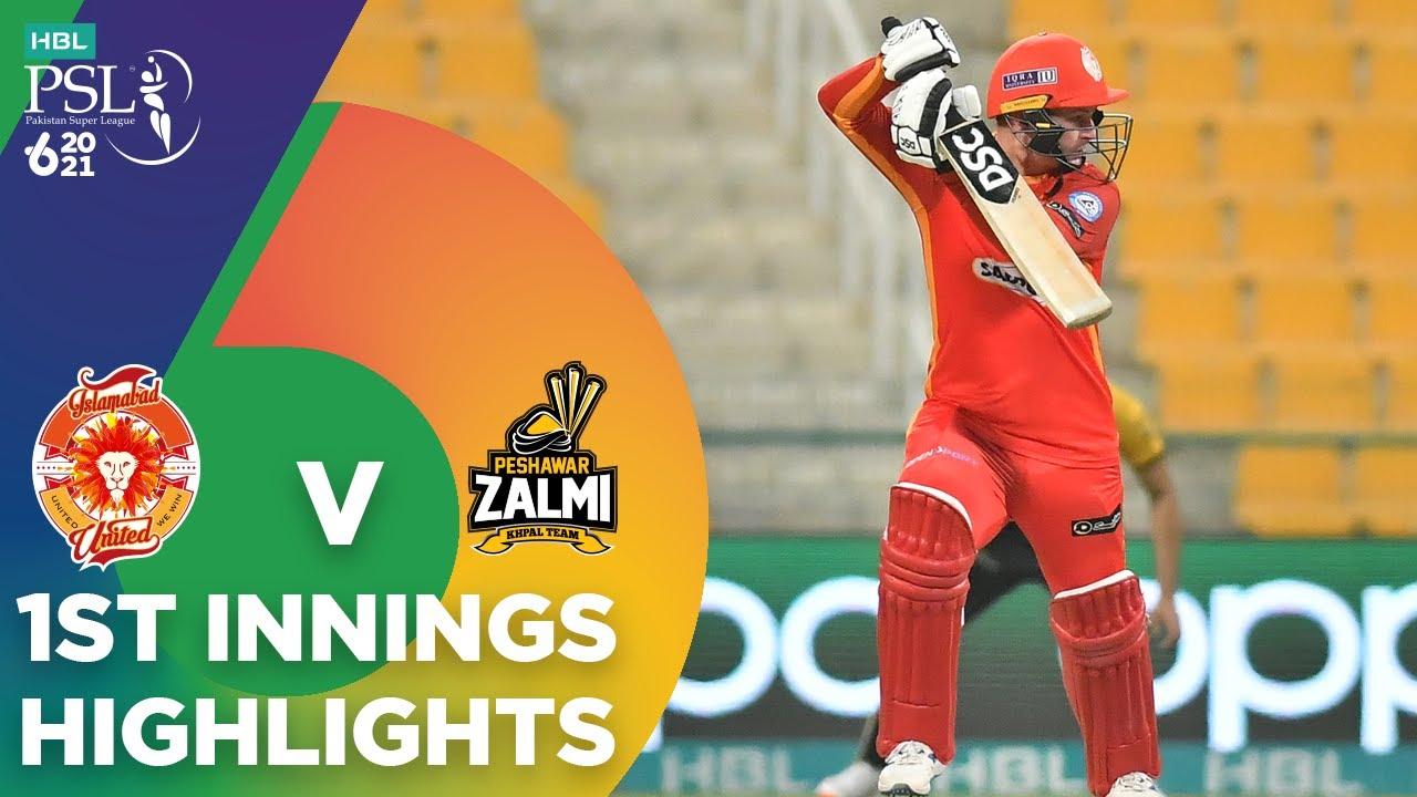 Download 1st Innings Highlights | Islamabad United vs Peshawar Zalmi | Match 33 | HBL PSL 6 | MG2T