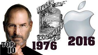 Top 10 Biggest Company Logo Changes