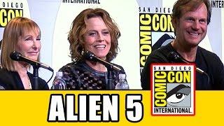 Sigourney weaver talks alien 5 at aliens 30th anniversary comic con panel