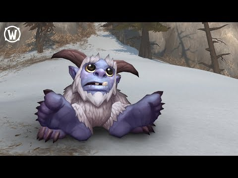 New World of Warcraft Pet –Whomper!