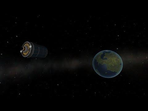 KSP: Launching an Atlas-Centaur into Keostationary orbit