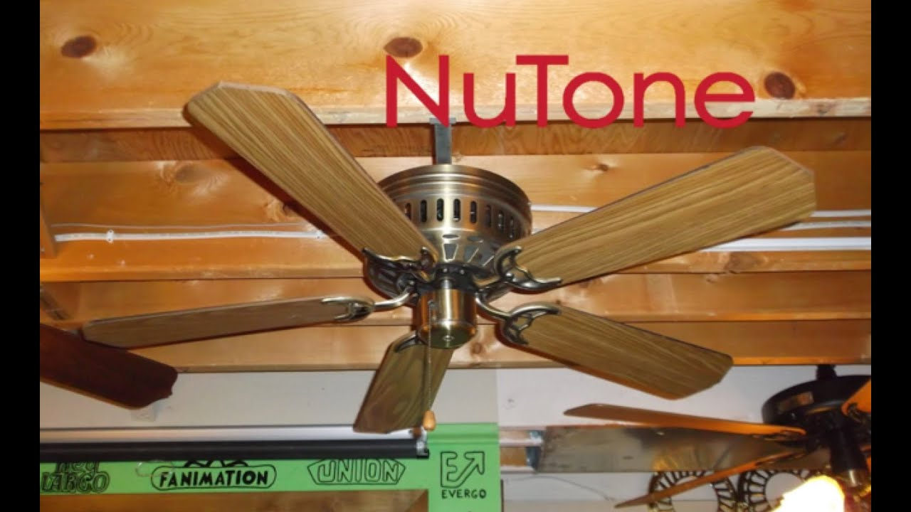 Nutone hug the ceiling ceiling fan youtube nutone hug the ceiling ceiling fan aloadofball Images
