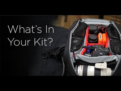 What's In Your Kit? - Manfrotto 410 Video Backpack