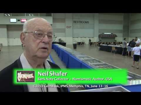 Neil Shafer Shares Advice About Paper Money Collecting. VIDEO: 3:27.