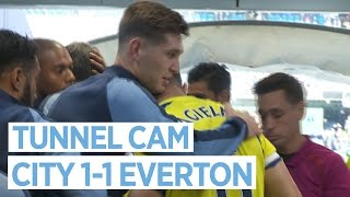 BARKLEY SLAPS STONES! | TUNNEL CAM | City 1-1 Everton