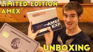 AMEX Limited Edition ROSE GOLD CARD Unboxing