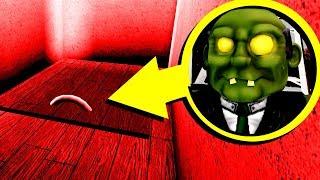 I went into his disturbing Roblox basement...