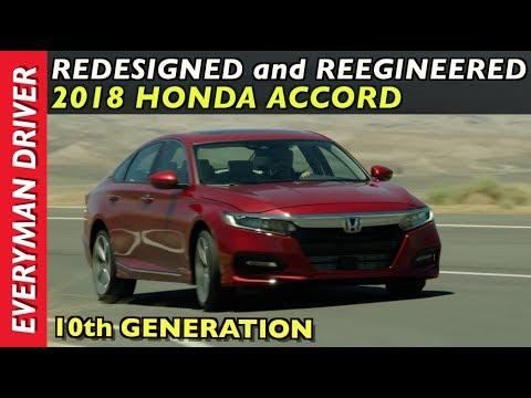 Redesigned and Reengineered: 2018 Honda Accord on Everyman Driver