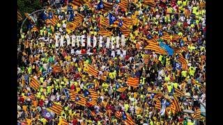 Directo: Manifestación 11-S, la Diada del Sí, en Barcelona