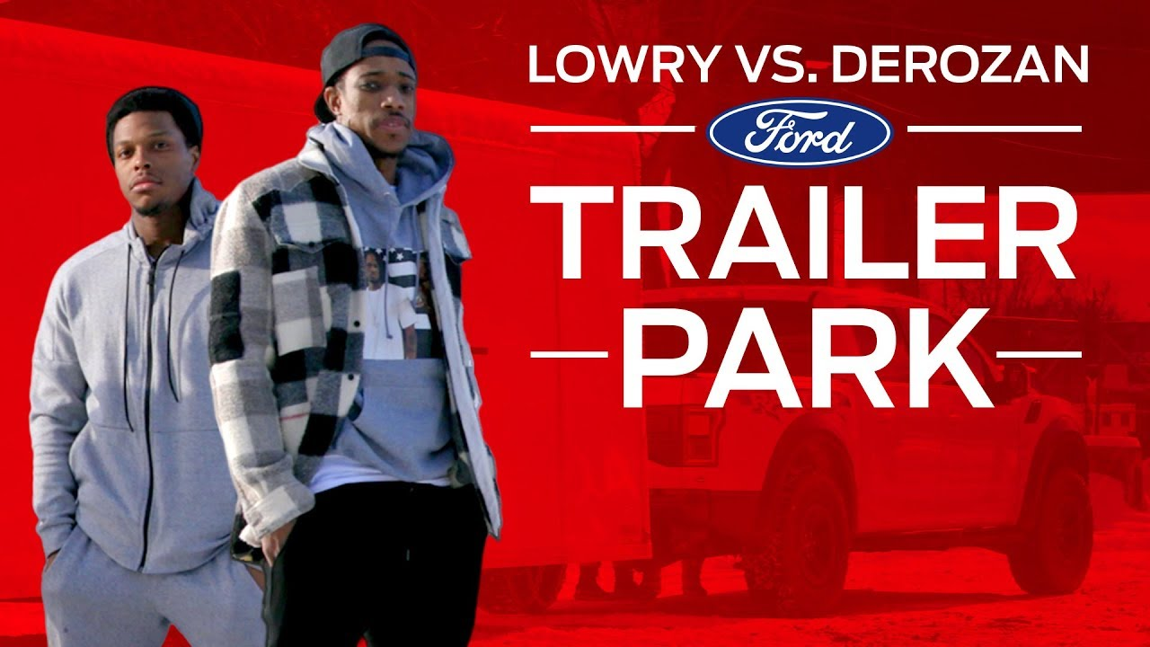 DeRozan vs Lowry - Trailer Park Challenge. Toronto Raptors 6966045bb