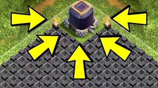 Clash of Clans - NEVER LOSE DARK ELIXIR! MAXIMUM PROTECTION (NEW Town Hall 9 Base!)