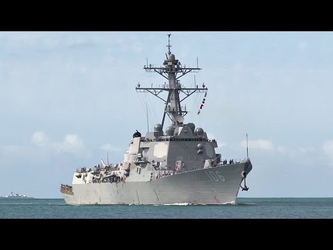 USS Stockdale Arrives At Pearl Harbor For RIMPAC 2016