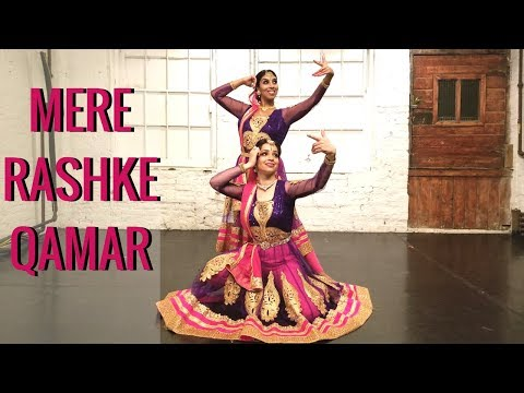 Mere Rashke Qamar Dance   Baadshaho   Kathak Bollywood Choreography   Feat. Svetlana Tulasi