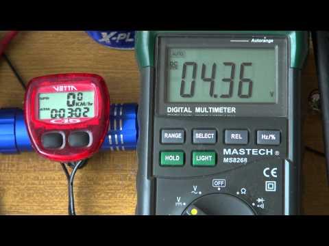 Shimano DH-3D35 Dynamo Hub - SIMPLE TEST