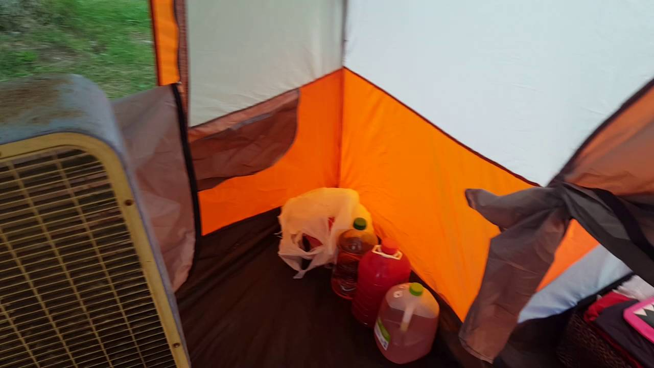 11 person instant cabin tent with private room by Ozark Trail