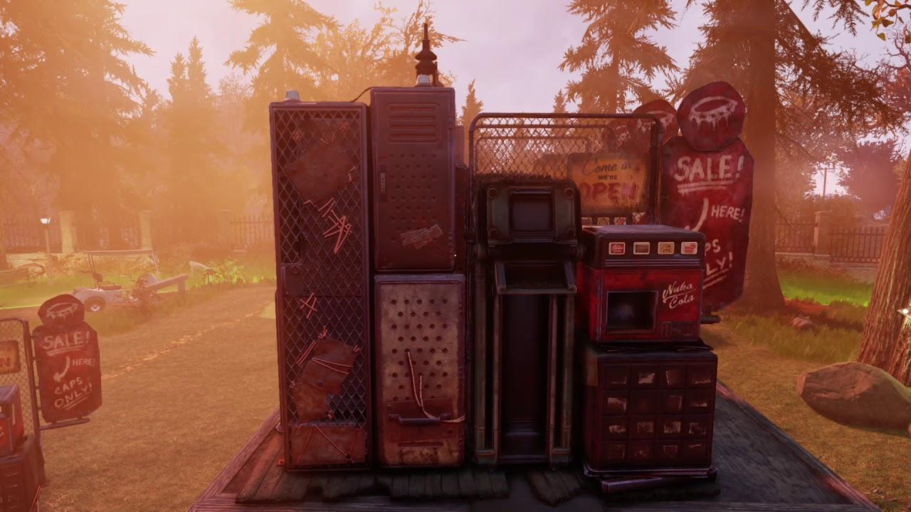 Fallout 76 duplicate your vending machine glitch