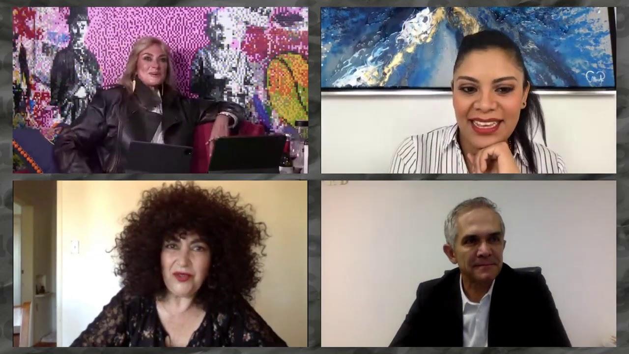 Amanda Miguel, Ana Victoria y Diego Verdaguer con Adela Micha