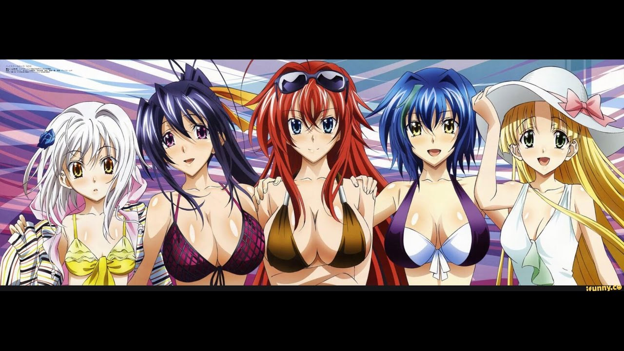 Highschool Dxd Girls