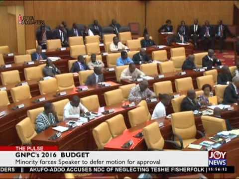 Ghana national petroleum corporation-The pulse on Joy News(2-6-16)