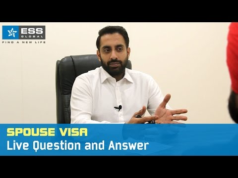 Spouse Visa - Live Question and Answer