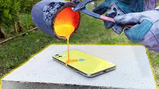 FAKE iPhone 11 VS LAVA!