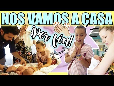 ¡NOS VAMOS A CASA! | SALIDA DEL HOSPITAL | VLOG DIARIO | Familia Carameluchi