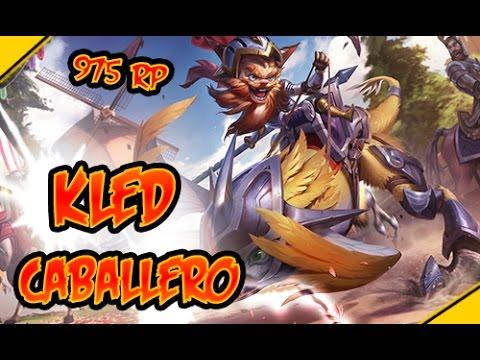 KLED CABALLERO ¡Splash ART revelado! - Noticias 1v1 League Of Legends