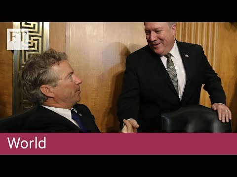 US Senate panel approves Pompeo as secretary of state