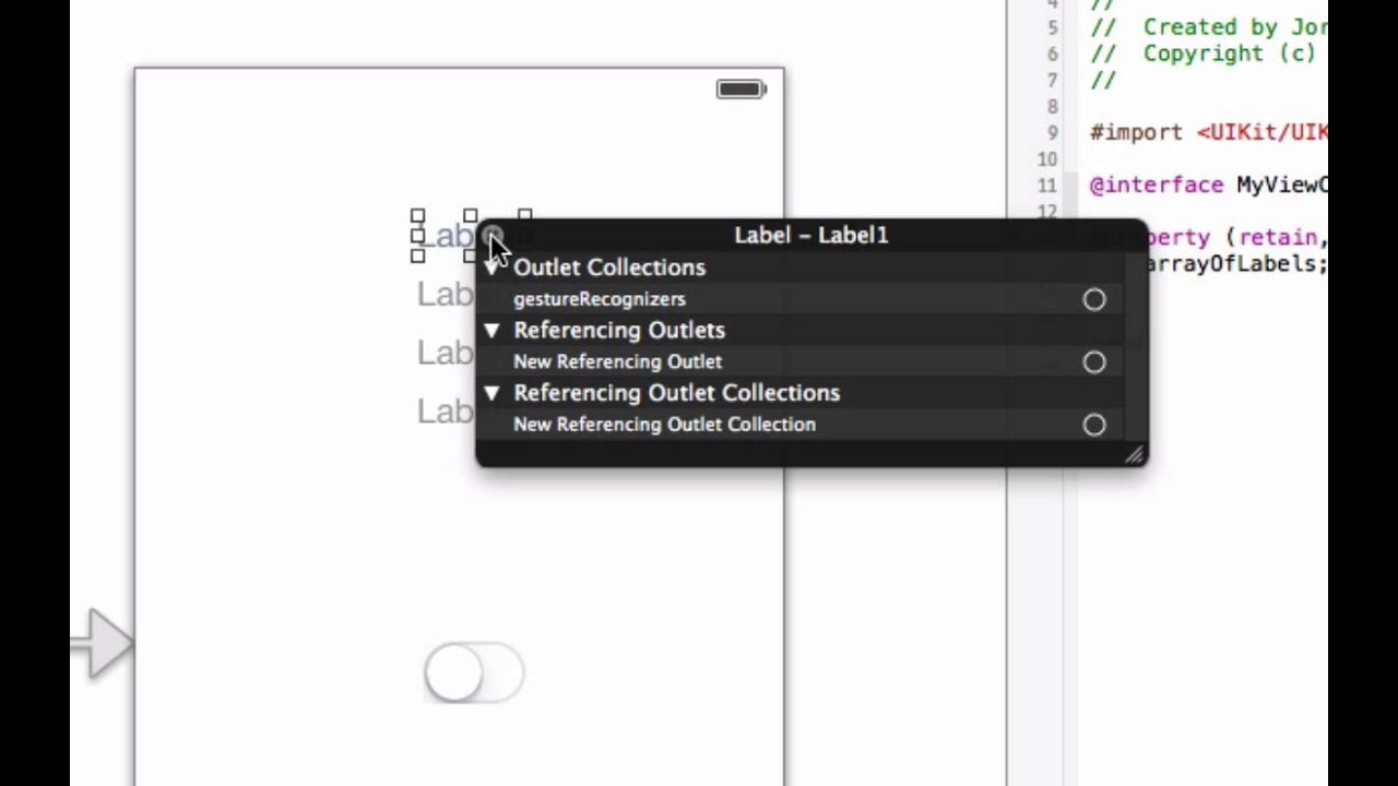 How to Create an NSArray of Labels in Objective C