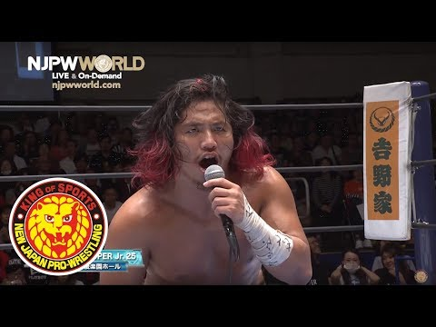 Hiromu KOs Marty Scurll and declares : BOSJ >G1 Climax!!