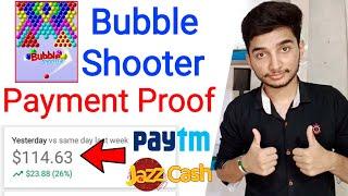 Bubble Shooter Game Se Paise Kaise Kamaye - Bubble Shooter Earn Money - Bubble Burst Payment Proof screenshot 2