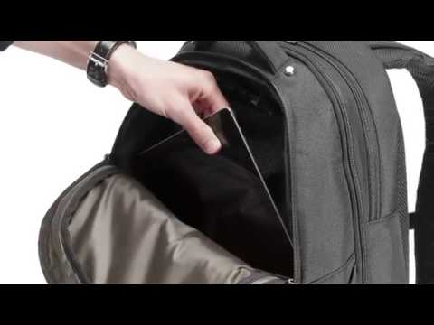 Targus Corporate Traveler Checkpoint Friendly Backpack - YouTube 26f7ebe0c8cdd