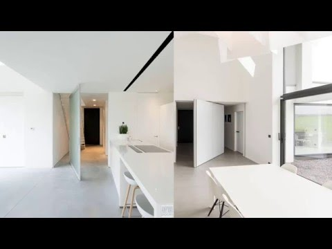 Innovative Pivoting Doors Double as Room Dividers & Innovative Pivoting Doors Double as Room Dividers - YouTube
