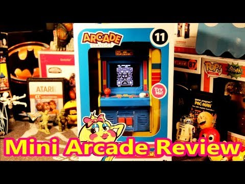 NEW 2018 Ms. Pac-Man Basic Fun Mini Arcade Classics #11 Review - The No Swear Gamer