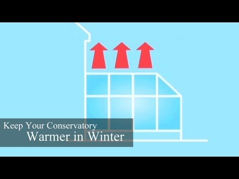 Keep Your Conservatory Warmer in Winter