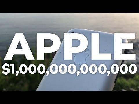 Apple: the world's first trillion dollar company