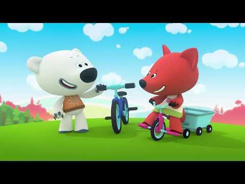 Ay Ay Ayıcıklar Bölüm #049 - Arkadaşım Bisiklet - Mikido TV Çizgi Film