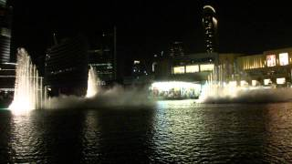 The Dubai Fountain - The Big Country Theme