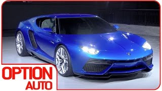 New Lamborghini Asterion Worldwilde Permiere (Option Auto News)