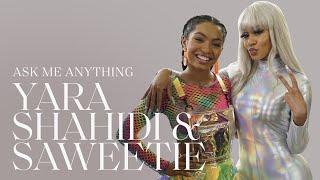 Saweetie & Yara Shahidi Talk 2021 Anthems, Best Friends and Staying Creative | #AskMeAnything | ELLE
