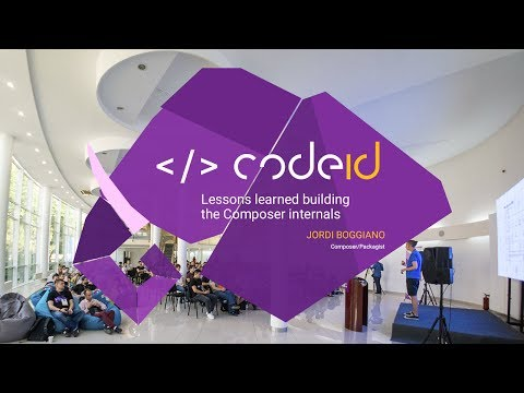 "Jordi Boggiano's talk at CodeID - PHP Odessa Conf ""Lessons learned building the Composer internals"""