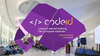 Jordi Boggiano's talk at CodeID - PHP Odessa Conf