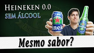 Heineken 0.0, a Heineken sem álcool | Degustação Doutor Breja | DB#270