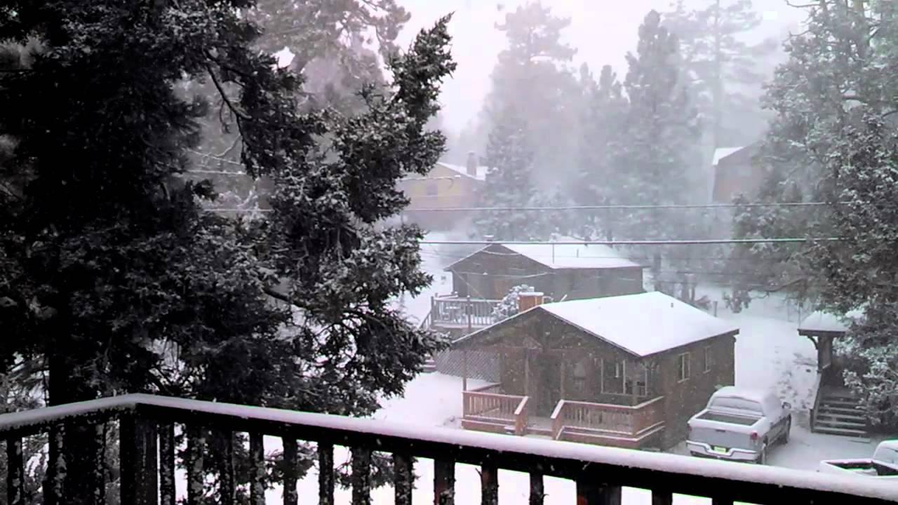 Big Bear Christmas.Snow Day After Christmas Bigbear