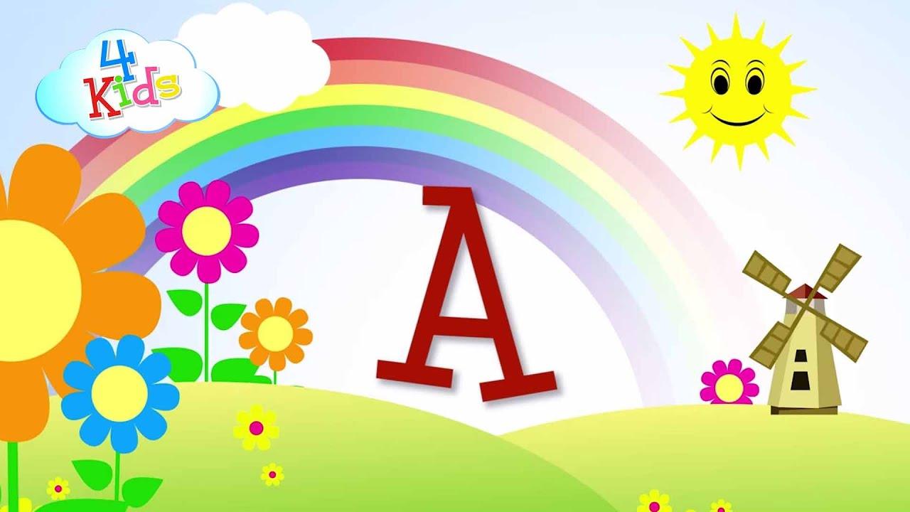 abc buchstaben lernen f r kinder das alphabet in gro buchstaben a bis z in deutsch youtube. Black Bedroom Furniture Sets. Home Design Ideas