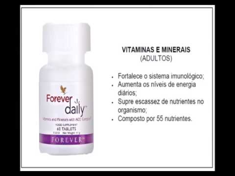 Forever Daily Suplemento Vitamínico e Mineral - 60 tabletes