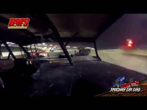 #31X Whitney Nunally - Street Stock - 9-15-18 Batesville Motor Speedway - In Car Camera