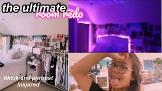 the ULTIMATE room makeover/transformation