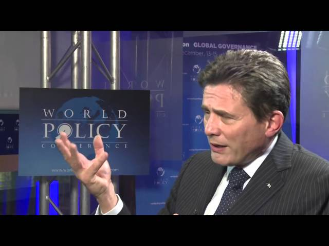 World Policy Conference 2013 - Henri DE CASTRIES